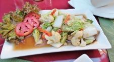 Gemischtes Gemüse mit Austernsauce (schön würzig)