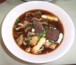 Suppe mit Innereien (interessant)