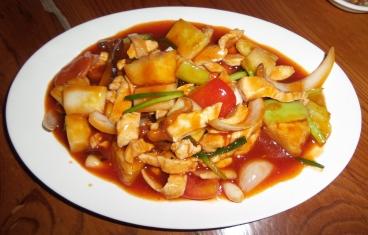Süß und Sauer Hühnchen (köstlich)