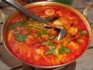 Tom Yum Goong, schafe Suppe mit Garnelen