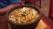 Japanisch; Nudelsuppe mit Gemüse (Vorsicht sehr heiß)