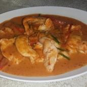 Panang Curry mit Huhn (Explosion auf der Zunge)