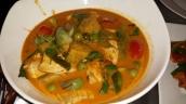 Rotes Curry mit Schwein ( schmeckt immer)