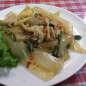 Phat Thai (klassische gebratene Nudeln)