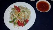 Papaya Salat (leicht und scharf)