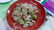 Pomelosalat mit viel Limetten