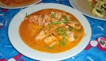 Panangcurry (erdnussig und cremig) )
