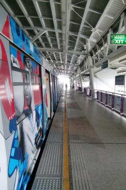 Moderne Hochbahn