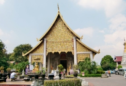 Wat Phra Singh Frontansicht