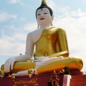 Sitzender Buddha