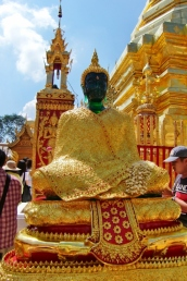 Sitzender Buddhat am Wat Phra That Doi Suthep