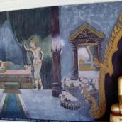 Wandmalereien am Wat Phra That Doi Suthep