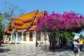 Schöne Terrasse am Wat Phra That Doi Suthep