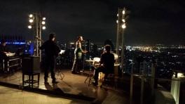Skybar -State Tower- tolle Aussicht und die Cocktail sind auch lecker