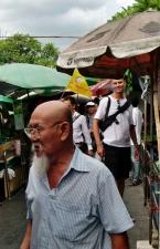 Auf den Straßen von Bangkok, Carsten war auch da