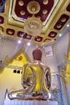 Tempel des Goldenen Buddha (Wat Traimit), der Buddha von hinten