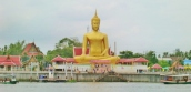 Buddha wacht über die Insel