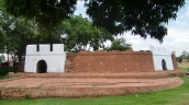 alte Stadtmauer von Ayutthaya