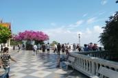 Tolle Terrasse am Wat Doi Suteph