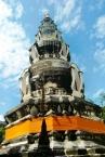 Die Stupa sollte immer auch angezogen sein