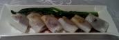 Gedünstete Reisnudelrollen gefüllt mit Gemüse und Shrimps, so leicht und lecker.