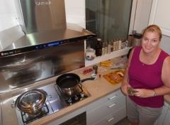 Super saubere Küche bei Pauline