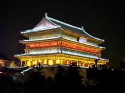Trommelturm bei Nacht