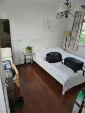 Unser kleines gemütliches Zimmer bei Helen's Home