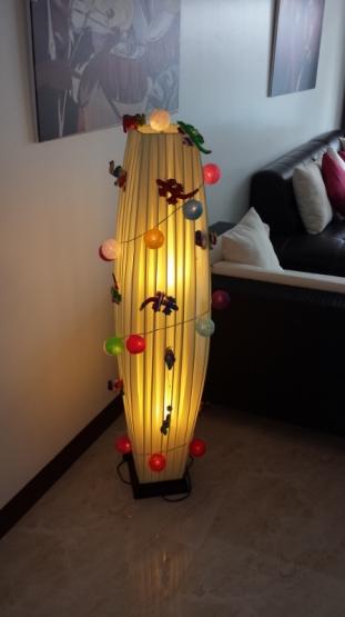 Ersatz Weihnachtsbaum... Not macht erfinderisch.