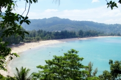 Blick auf Kamala Beach