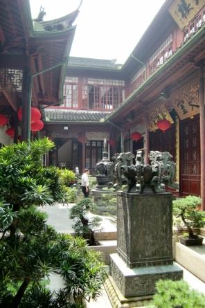 Natürlich haben wir auch viele schöne chinesische Tempel besucht.