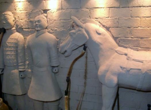 Worriors mit Pferd