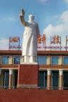 Und Mao wacht über die Stadt.