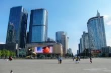 Große Plätze, typisch China.