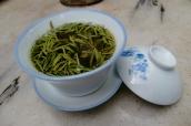 Chinesischer Grüner Tee. Schmeckt wie grüne Wiese.