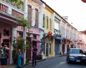 Phuket City hat auch ein paar schöne Seiten, schön bunt
