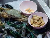 Neben Meerestieren gibt es auch ein paar Besonderheiten: Maden