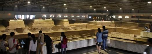 Eine von insgesamt 3 großen Hallen