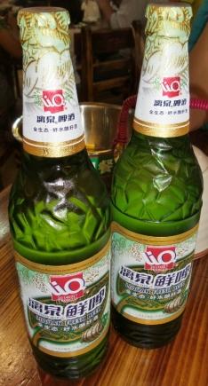 Lecker chinesisches Bierchen