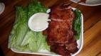 Schweinekotelett mit süßer Sauce