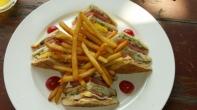 Das klassische BLT Sandwich.