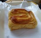 Hefekuchen mit Vanillegeschmack. Die Alternative wenn wir gar nicht zu essen gefunden haben. So lecker.