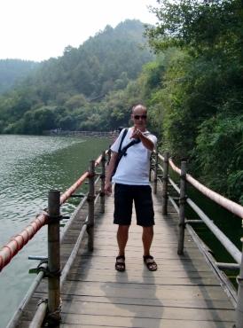 Der Weg zu den Wasserfällen.