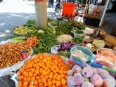 Gemüse und Obst in allen Farben.