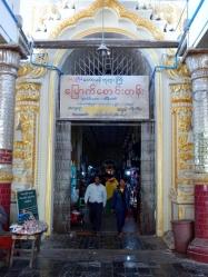 Eingang zum Mahamuni Kloster