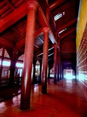 Innen ist der Königspalast sehr schön restauriert.