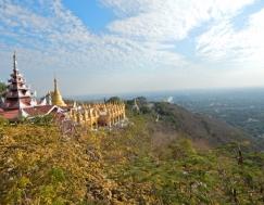 Ein Blick auf die Stadt vom Mandalay Hill aus.