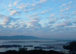 Ein Blick auf den Irrawaddy.