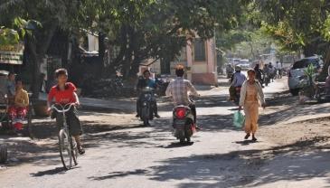 Viele Mopeds sind auch nicht auf der Straße.