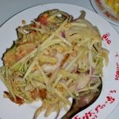Grüne Mango Salat